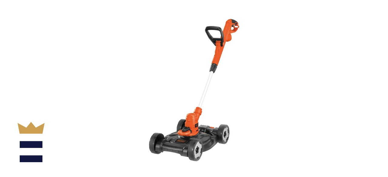 Black & Decker 6.5A 12-inch Electric 3-in-1 Trimmer/Edger and Mower