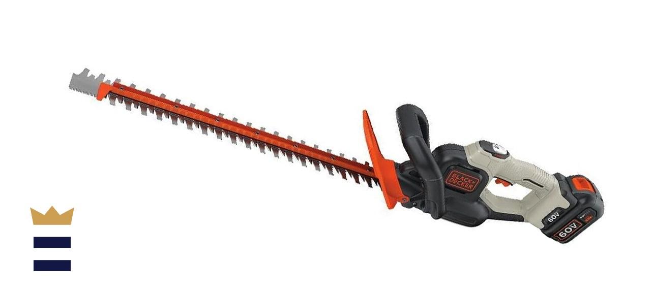 BLACK+DECKER 40V 24-inch Cordless Hedge Trimmer