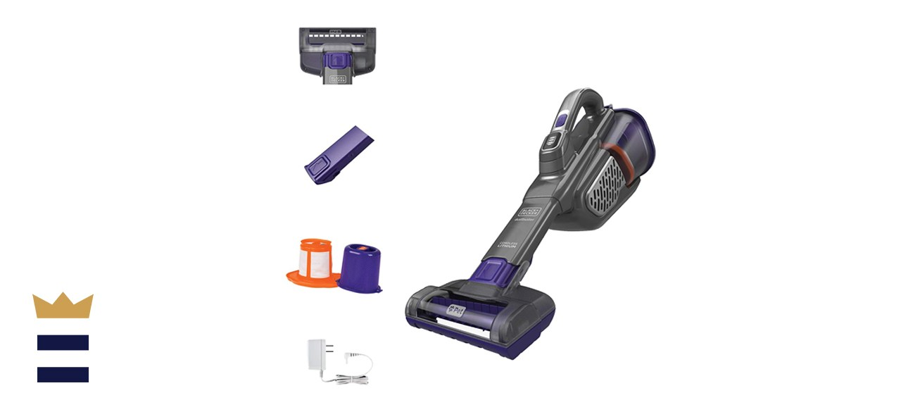 Black + Decker Dustbuster AdvancedClean+ for Pets.