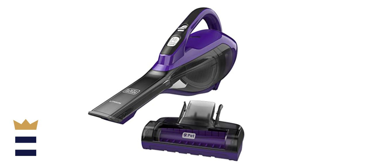 BLACK+DECKER Lithium-Ion Pet Hand Vac