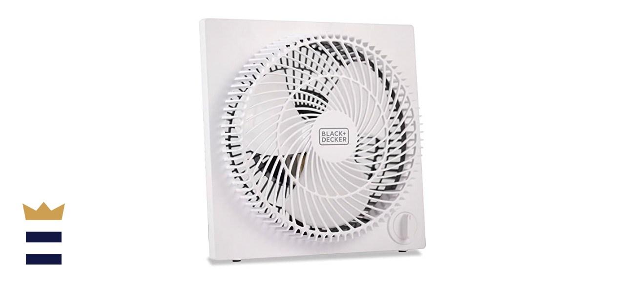 BLACK+DECKER Tabletop Quiet Box Fan