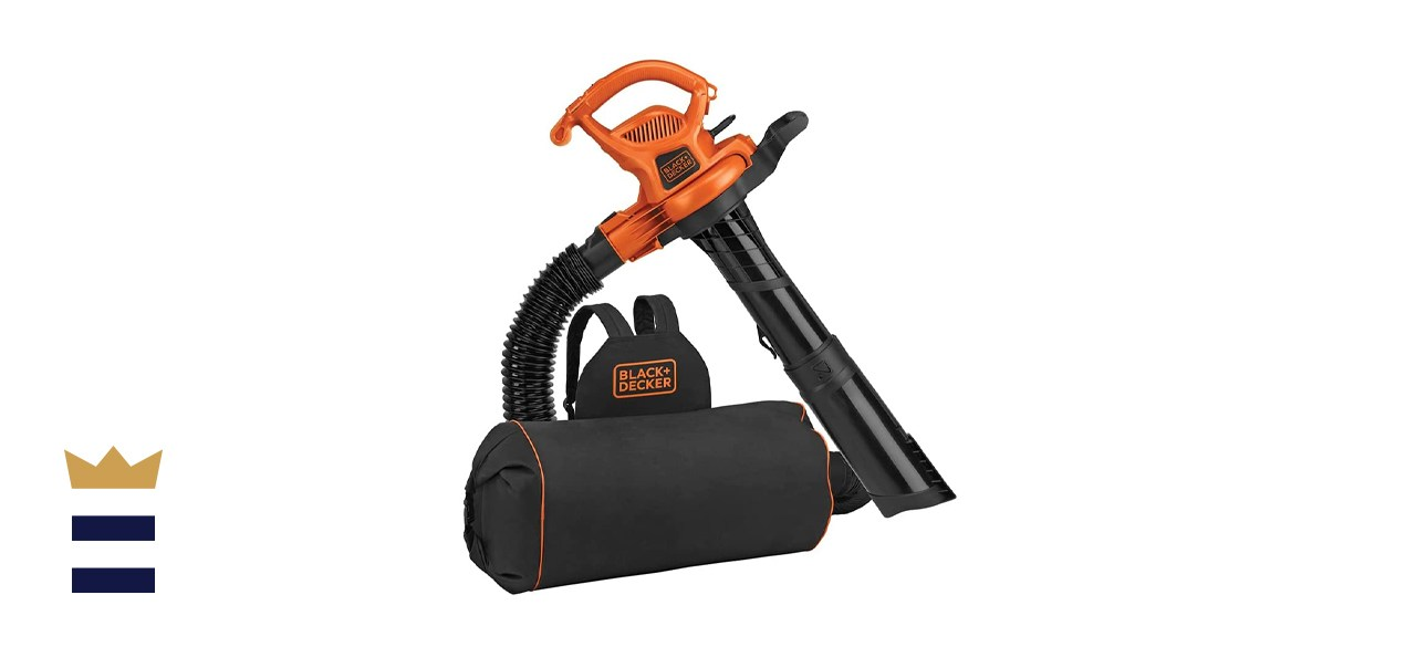BLACK+DECKER Backpack Leaf Blower Vacuum and Mulcher