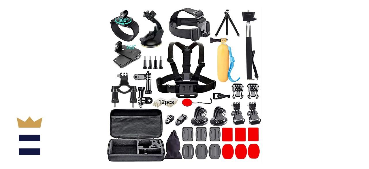 Black Pro Camera Accessory Kit