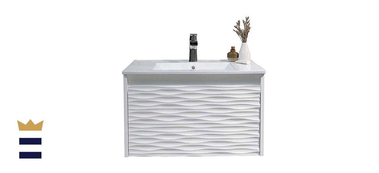Blossom Store White Bathroom Vanity with Sink