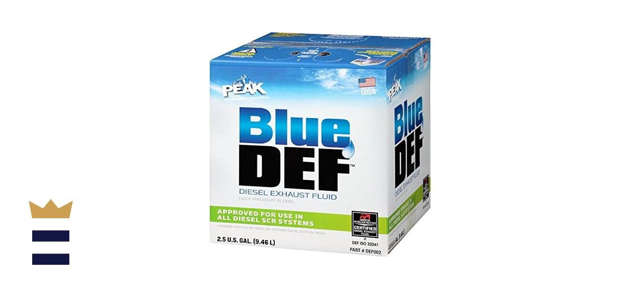 Blue Def Diesel Exhaust Fluid
