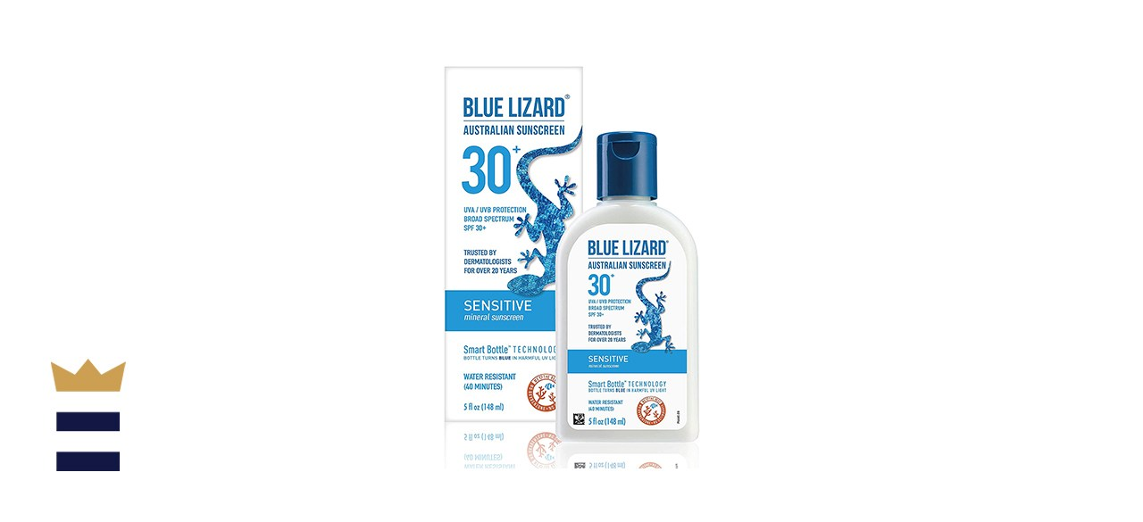 Blue Lizard Australian Sunscreen for Sensitive Skin SPF 30+