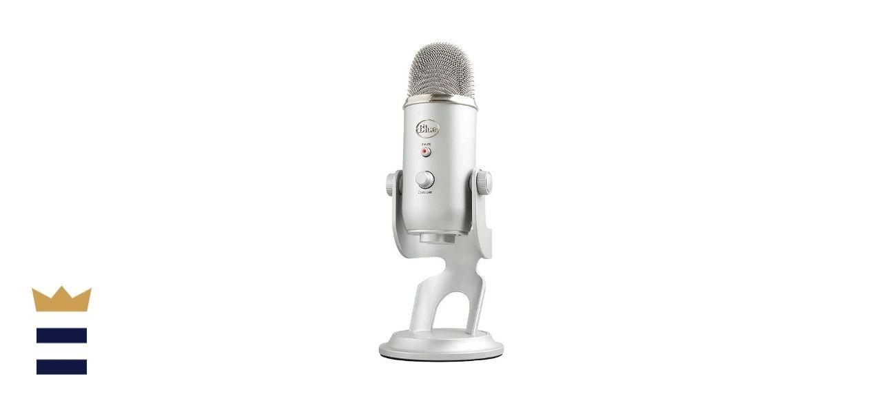 Blue's Yeti Silver Edition USB Microphone
