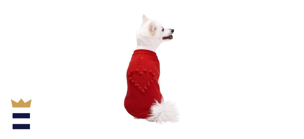 Blueberry Pet Winter Symphony Color-Block Unisex Designer Dog Sweater