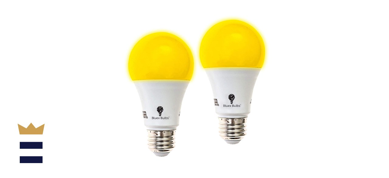 BlueX Yellow LED Bug Light Bulbs