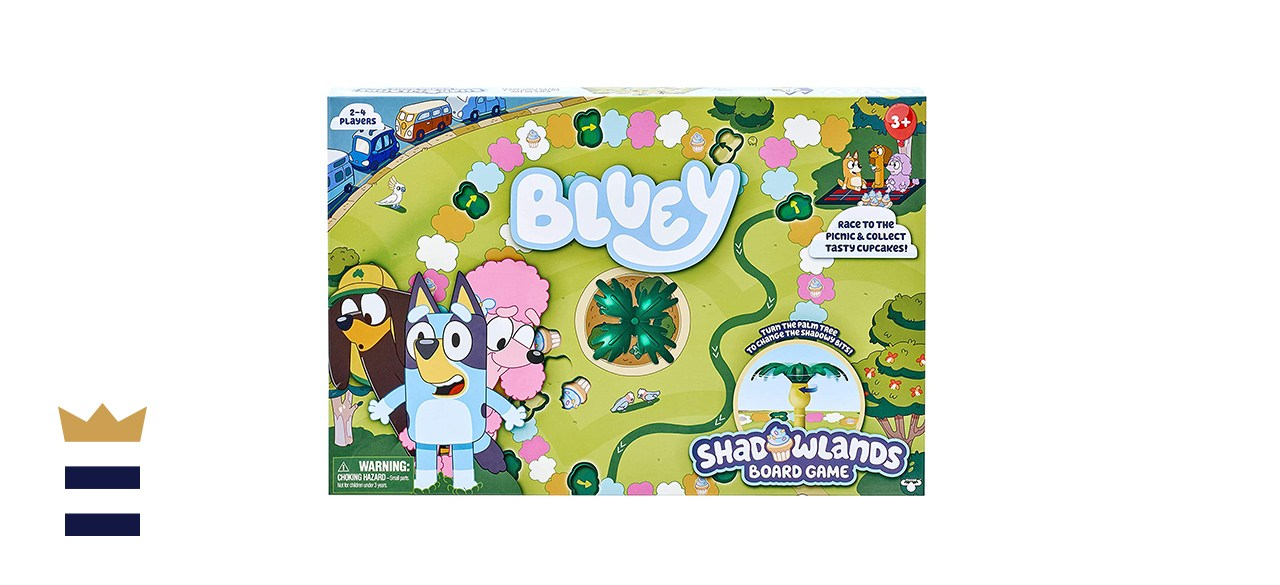Bluey Shadowlands Board Game For 2-4 Players Ages Three and Up