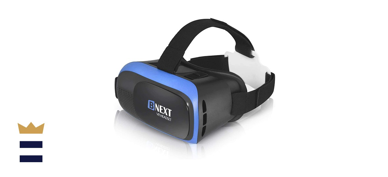 BNext VR Headset Compatible With iPhone and Android Phones