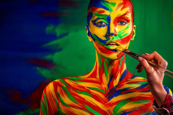 body paint3