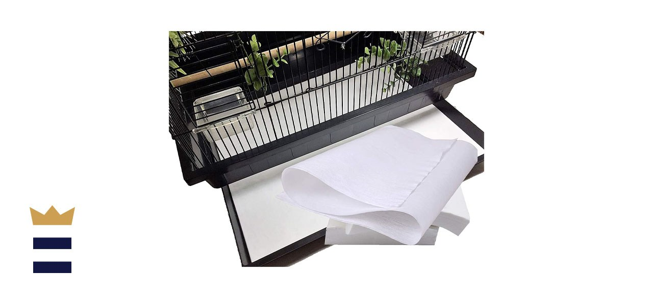 Bonaweite Disposable Non-Woven Birdcage Liners Papers