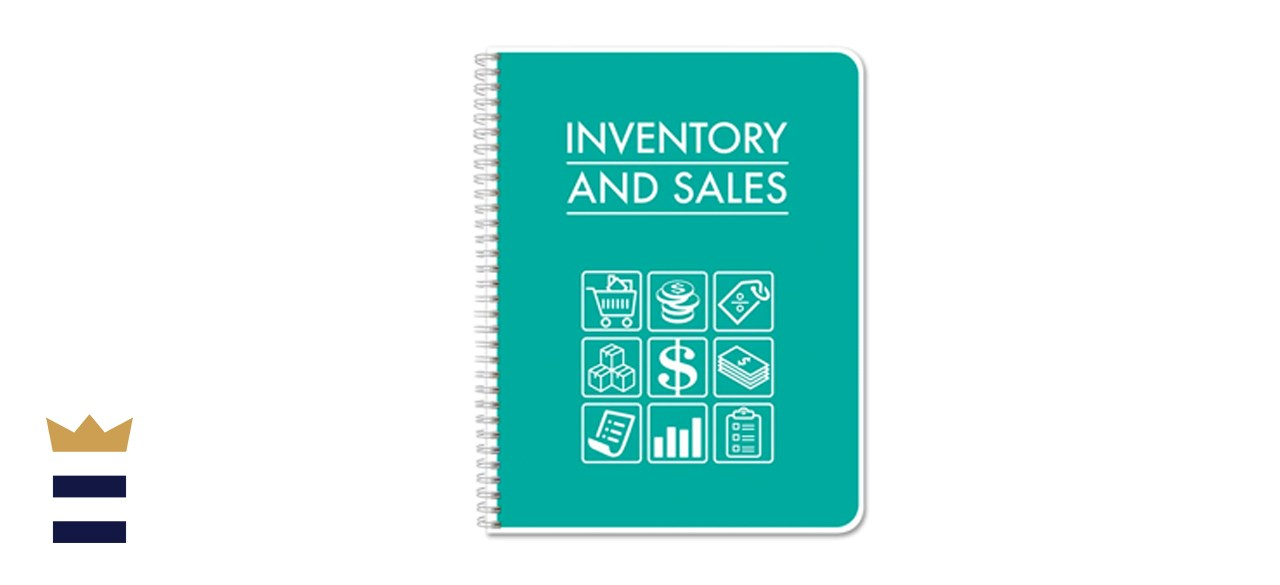 BookFactory Inventory and Sales Wire-O Ledger