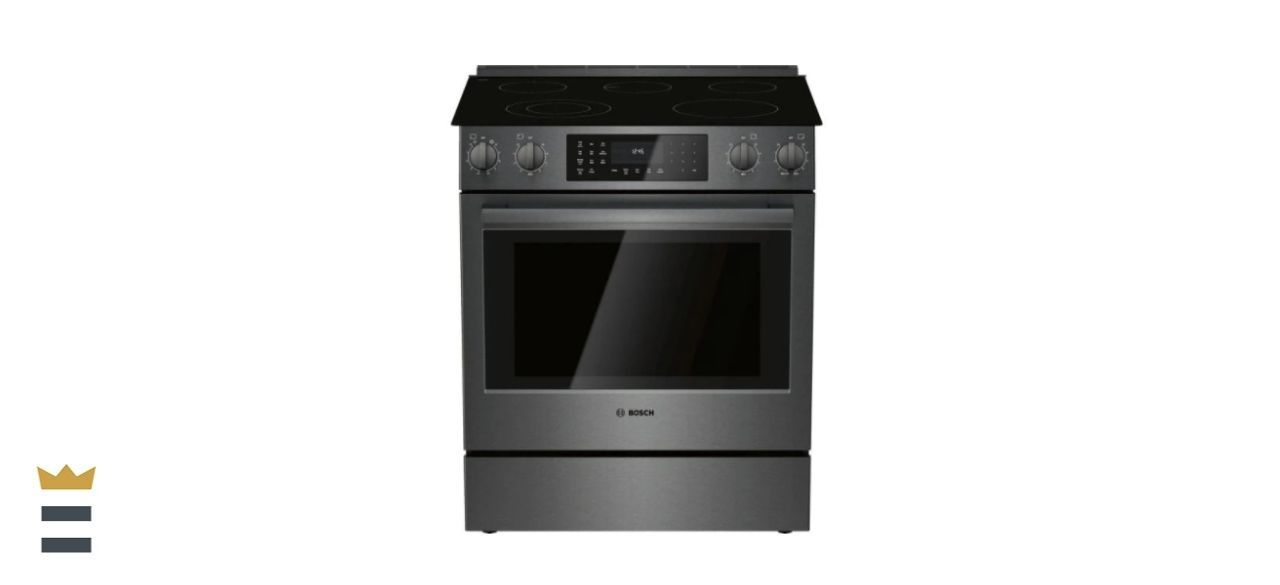 Bosch 800 Series 30-Inch 4.6-Cubic Foot Slide-In Electric Range
