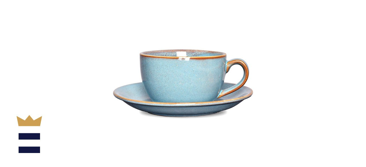 Bosmarlin Coffee Cup with Saucer