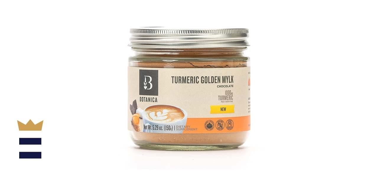 Botanica Health Chocolate Turmeric Golden Mylk Powder with Ashwagandha Root