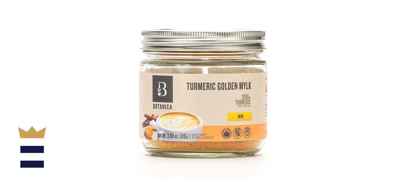 Botanica Health Turmeric Golden Mylk Powder with Ashwagandha Root