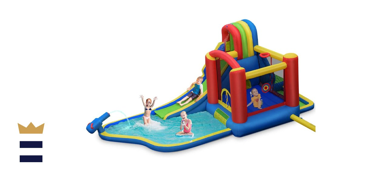 Bountech 9-in-1 Inflatable Water Slide