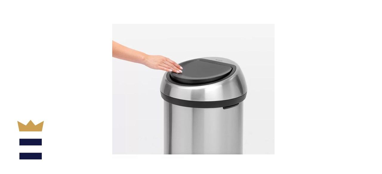 Brabantia 16-Gallon Touch Top Trash Can