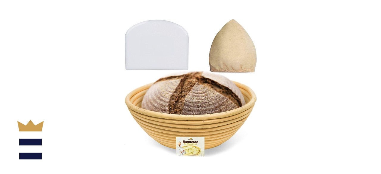 Bread Bosses 9-Inch Banneton Proofing Basket Set