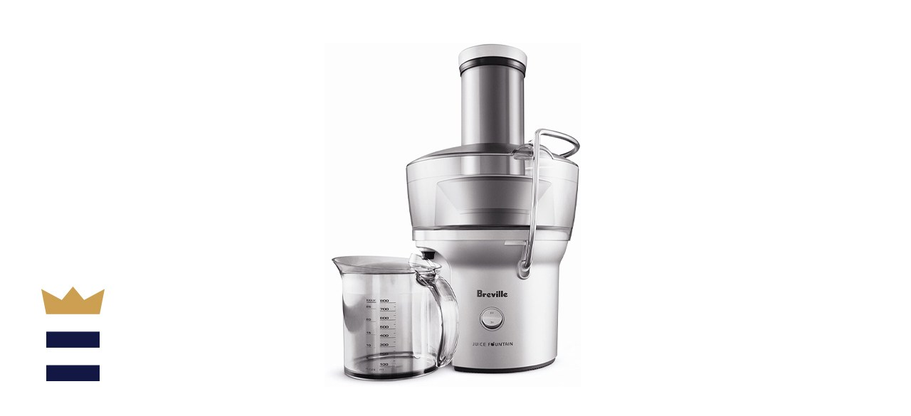 Breville Juice Fountain Compact Wide-Mouth Slow Juicer