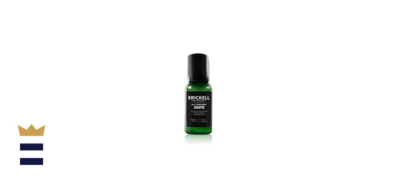Brickell Men's Daily Strengthening Shampoo for Men