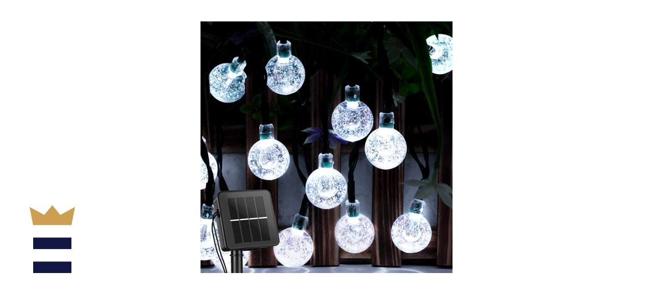Brightown Crystal Globe Solar Powered Lights