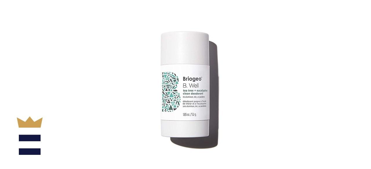 Briogeo B. Well Tea Tree & Eucalyptus Clean Deodorant