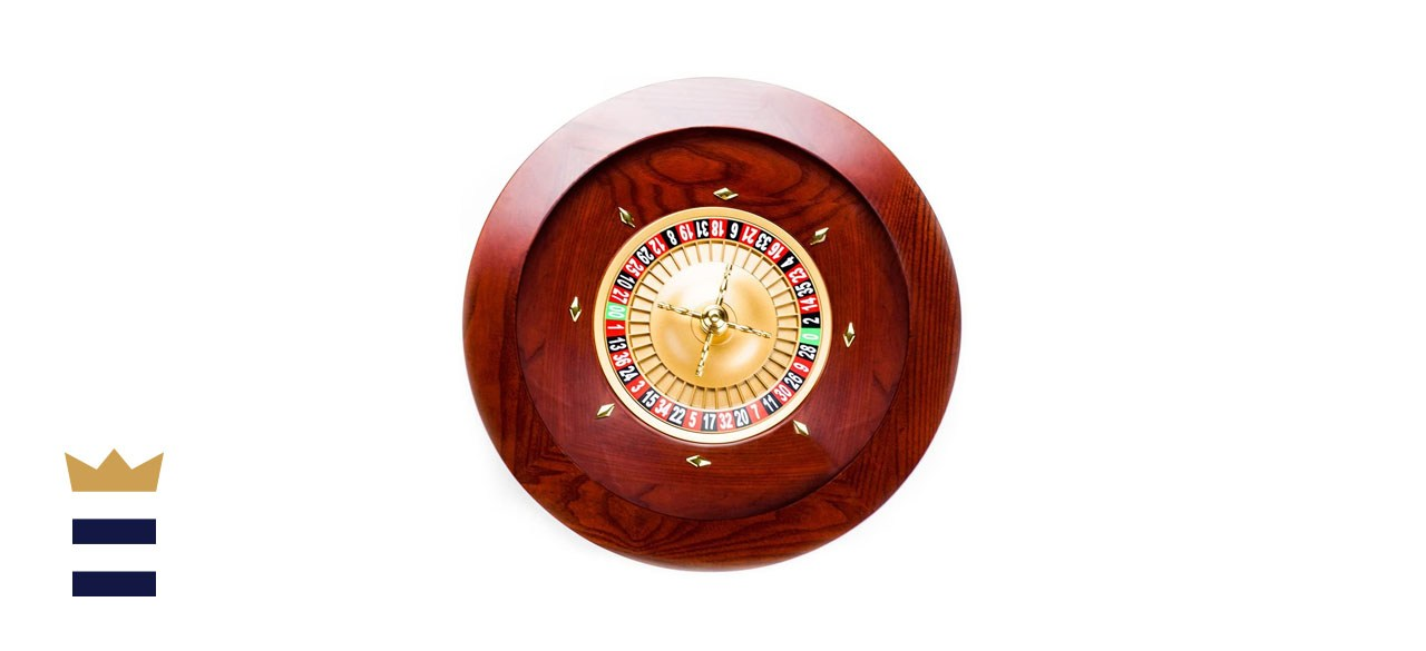 Brybelly Deluxe Wooden Roulette Wheel Set