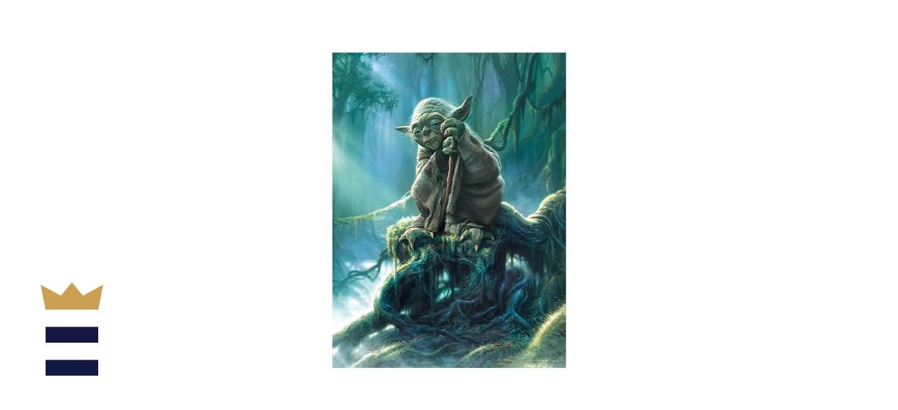 Buffalo Games Star Wars Fine Art Collection Yoda Jigsaw Puzzle