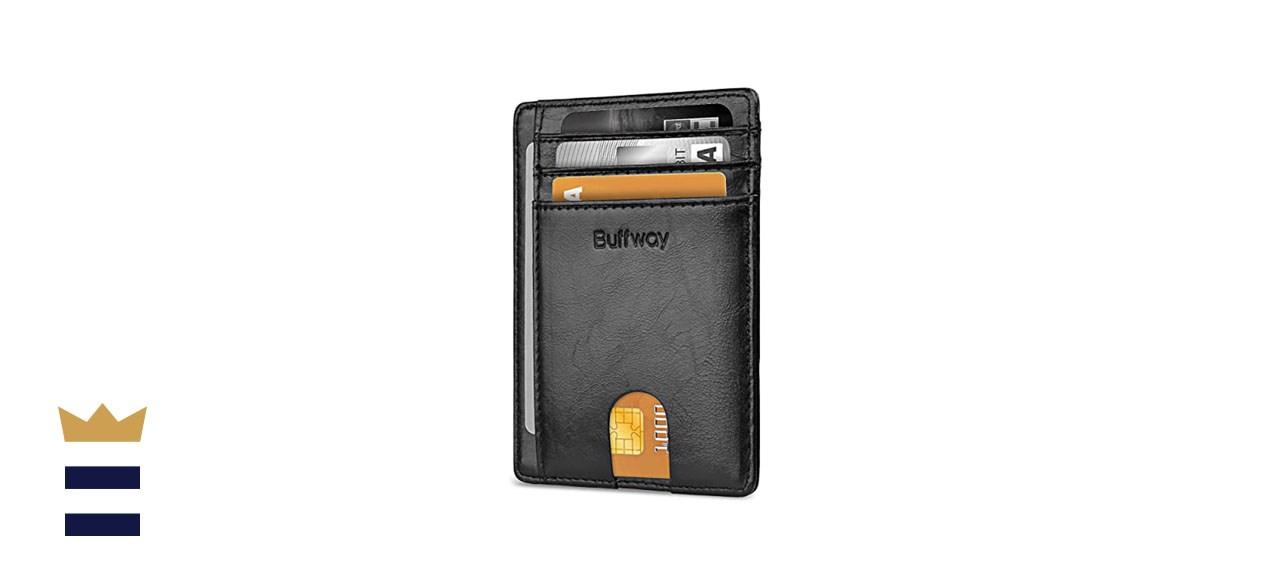 Buffway RFID Slim Wallet
