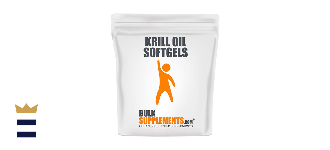 BulkSupplements Pure Krill Oil Softgels