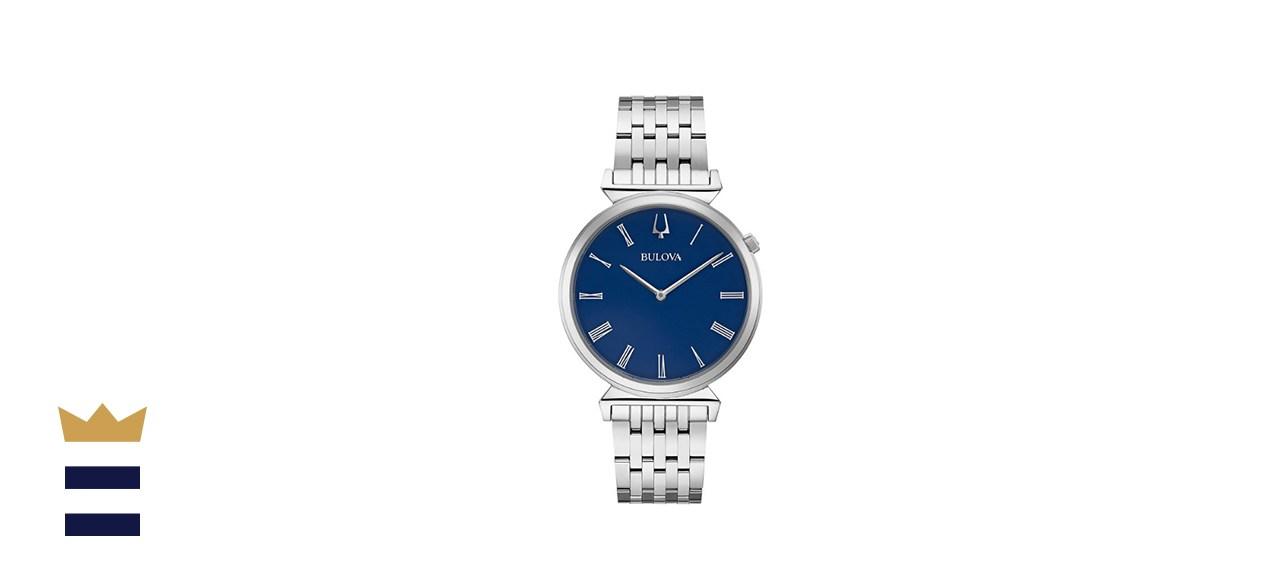 Bulova Men's Regatta Stainless Steel Bracelet Watch