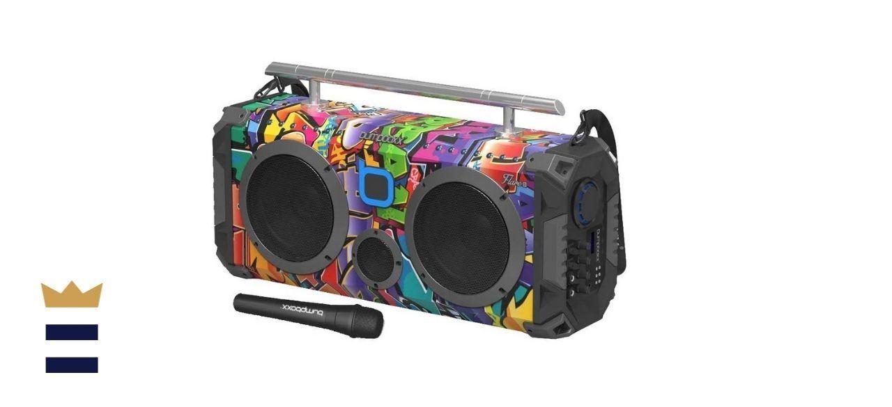 Bumpboxx Bluetooth Boombox Flare8 NYC Graffiti