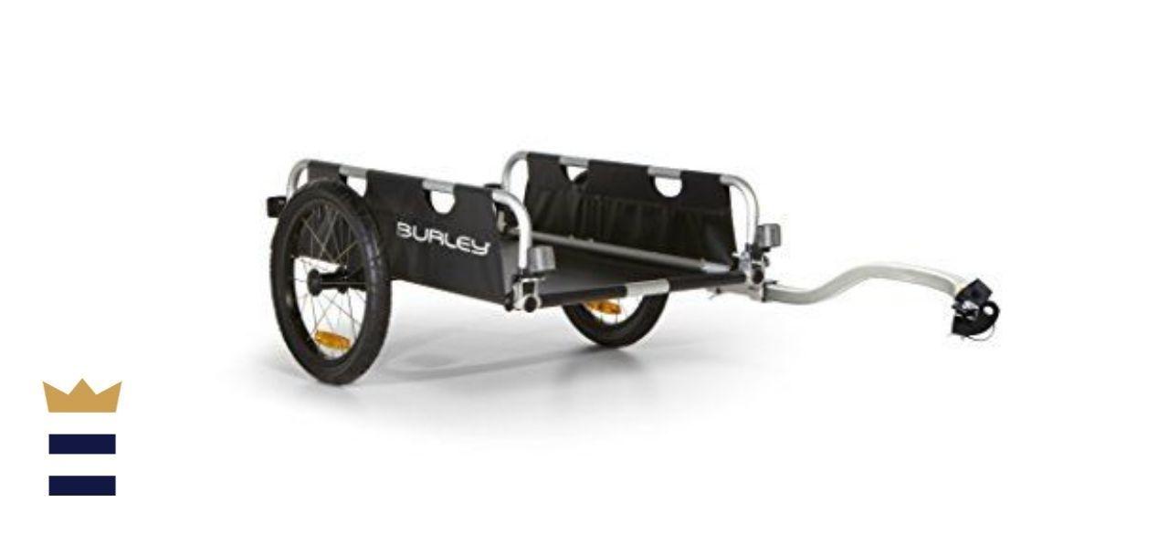 Burley Flatbed Utility Bicycle Cargo Trailer