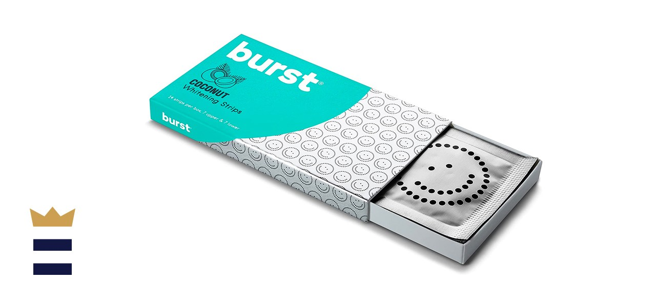 BURST Teeth Whitening Strips with Coconut Oil