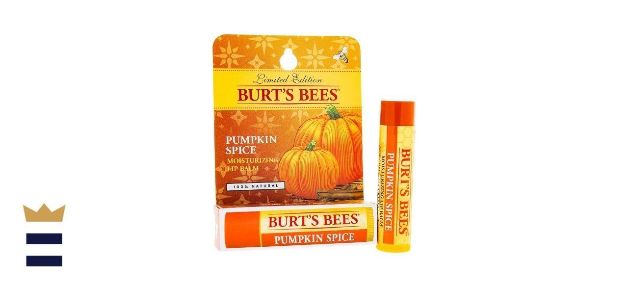 Burt's Bees Lip Balm Blister, Pumpkin Spice