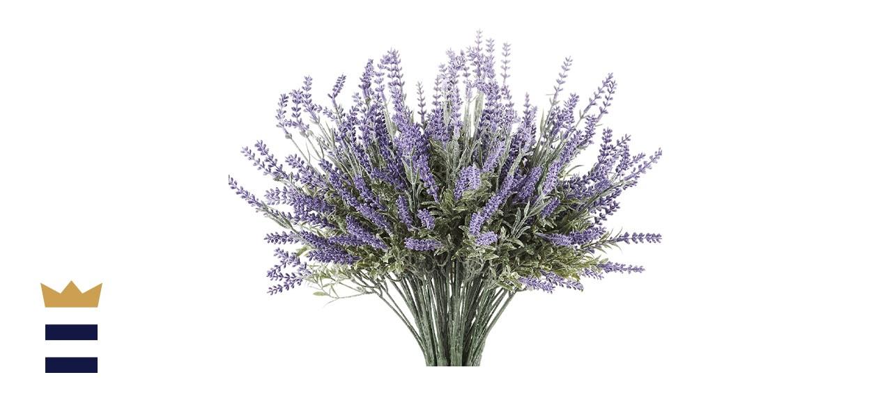 Butterfly Craze Artificial Lavender Plant Bundle