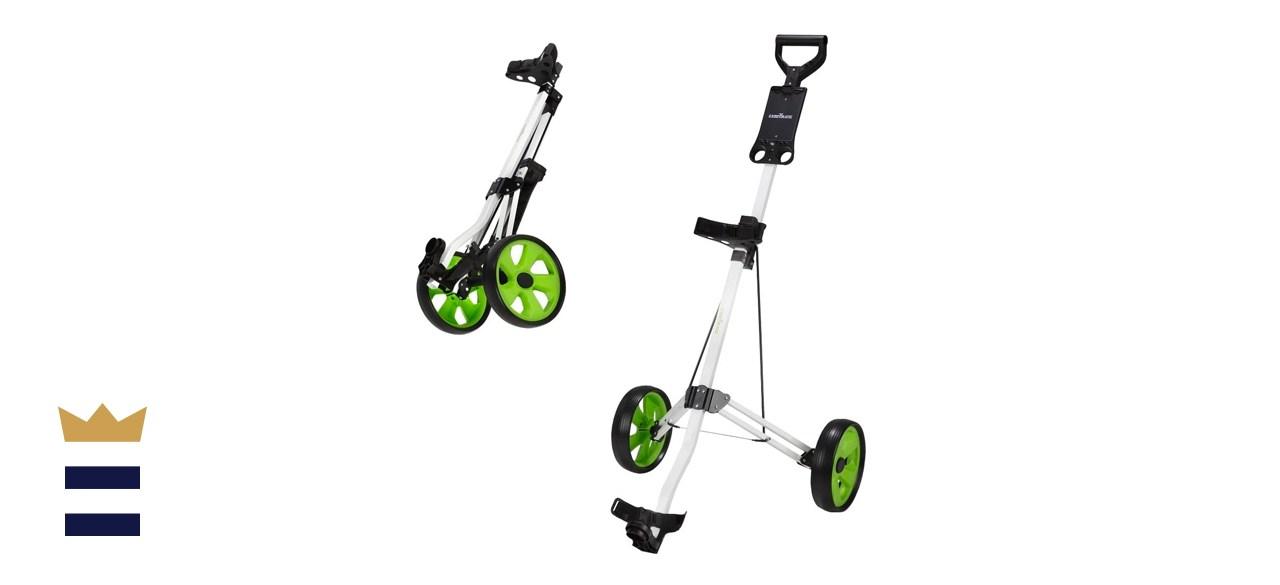 Caddymatic Golf Lite Trac 2 Wheel Folding Golf Cart