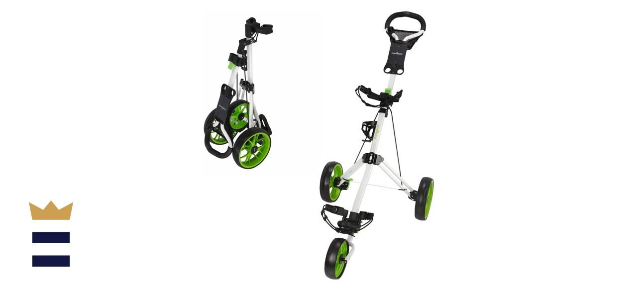 Caddymatic Golf Pro Lite Three-Wheel Golf Cart