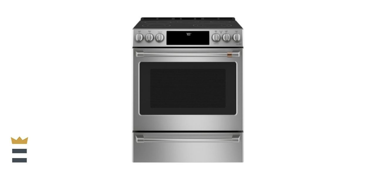 Cafe 30-Inch 5.7-Cubic Foot Smart Slide-In Electric Range