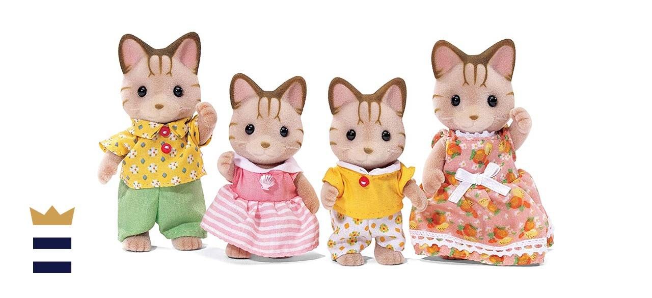 Calico Critters Sandy Cat Family Set