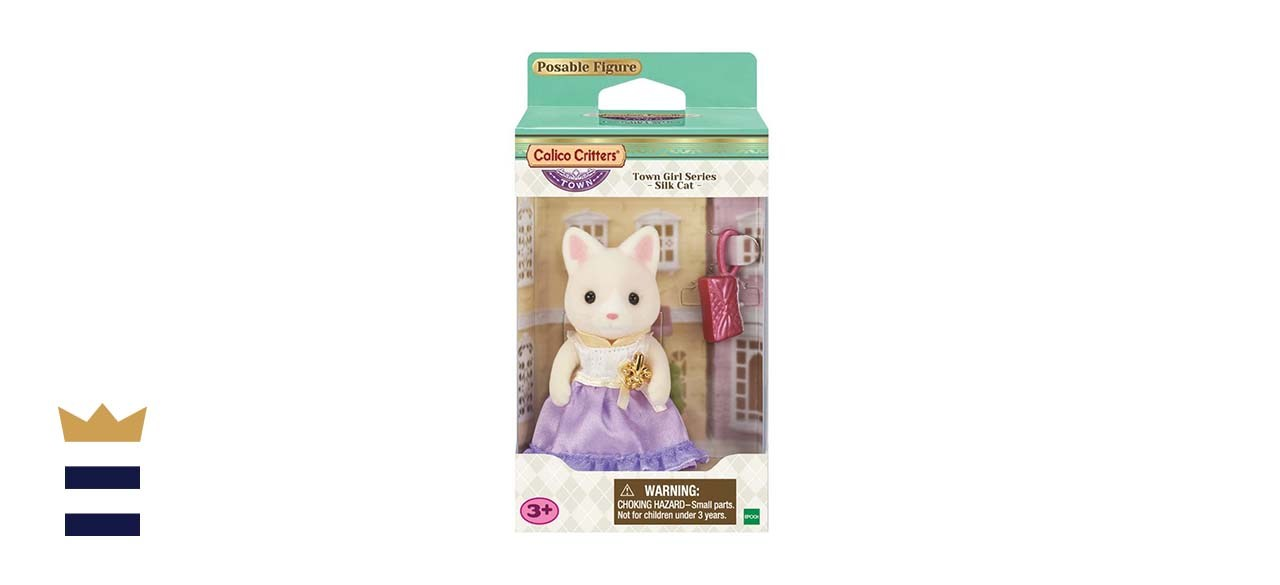 Calico Critters Town Girl Series Silk Cat