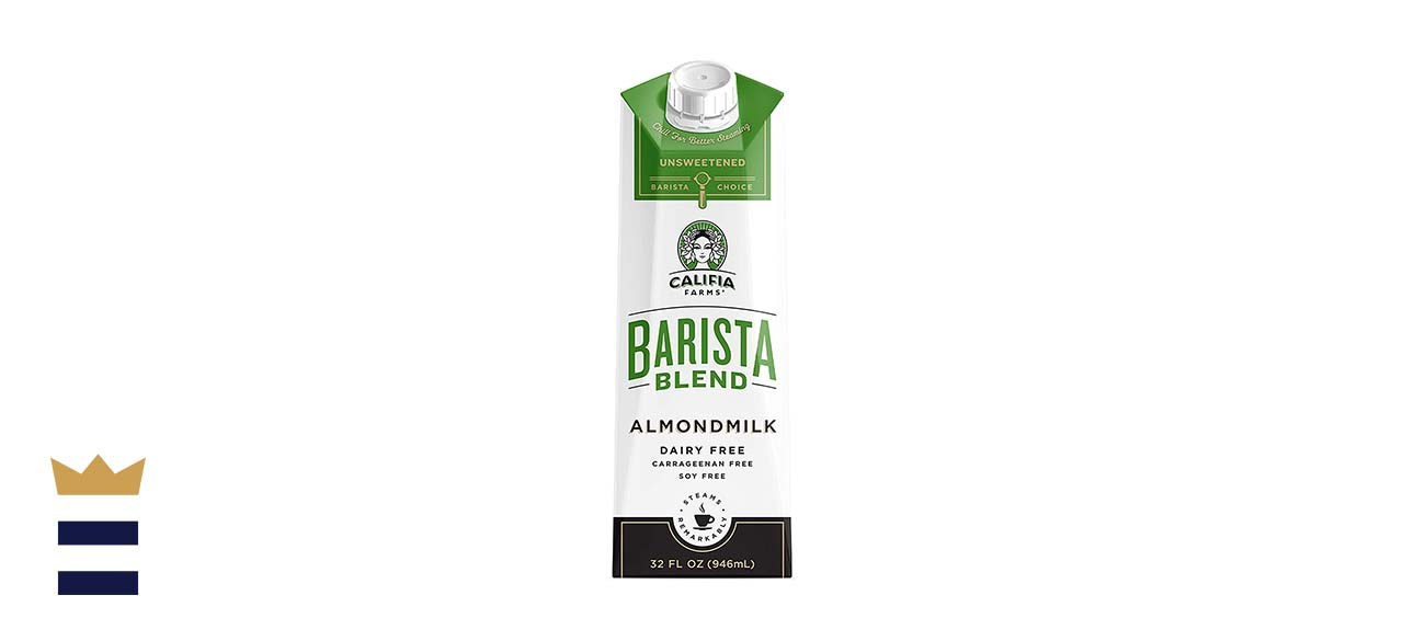 Califia Farms - Almond Milk, Unsweetened Barista Blend