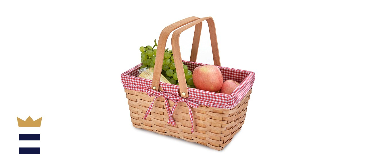Vintiquewise Rectangular Basket