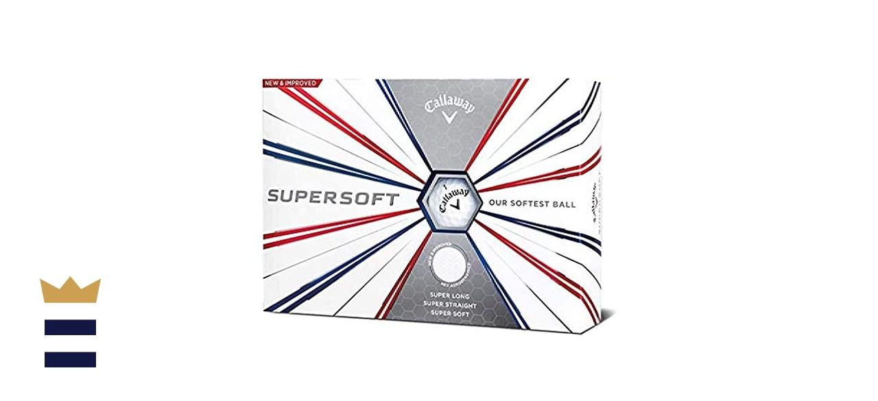 Callaway Golf Supersoft Golf Balls (1 dozen)