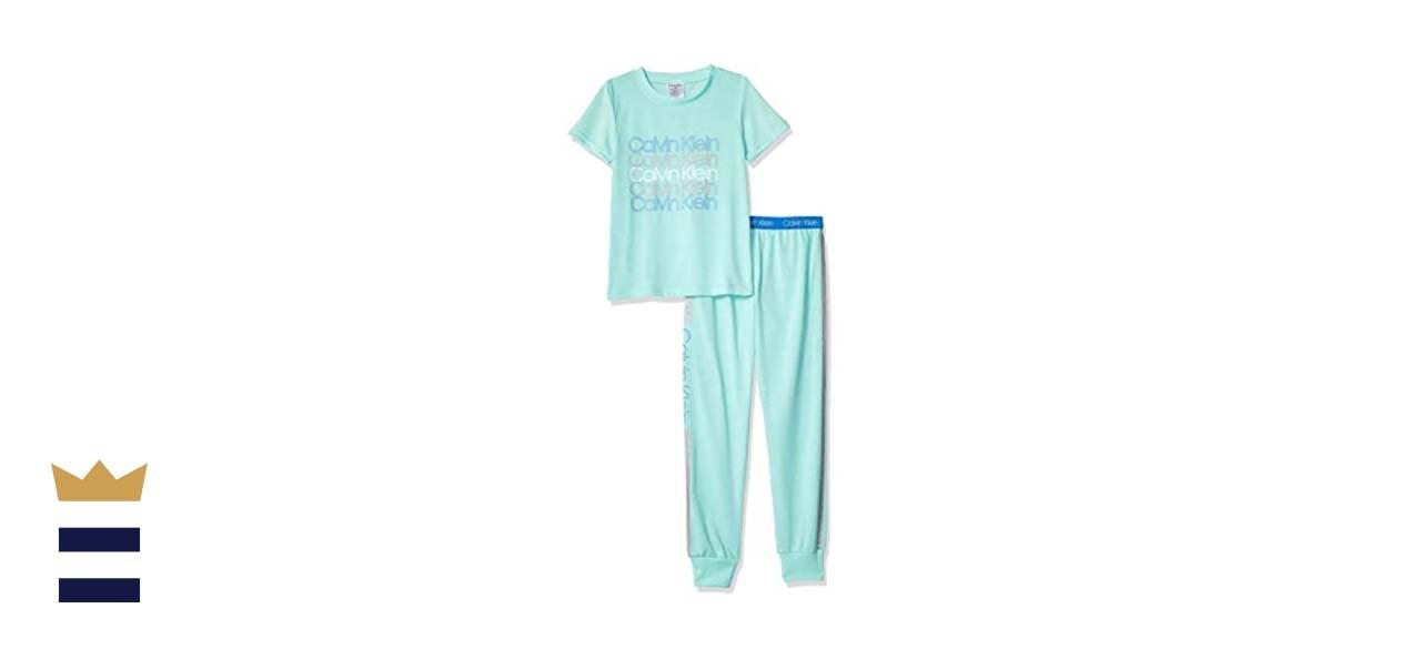 Calvin Klein Girls' 2-Piece Sleepwear Set