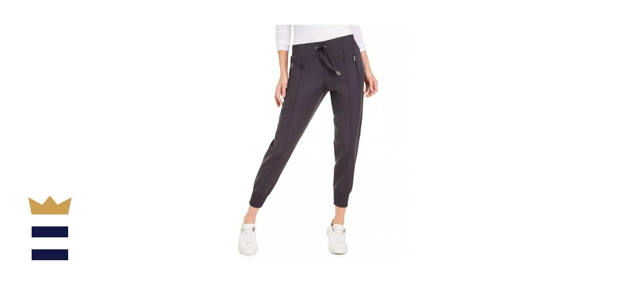 Calvin Klein Performance Pintucked Jogger Pants