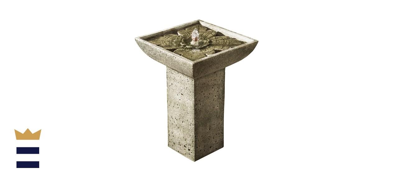 Campania Andra Birdbath Fountain
